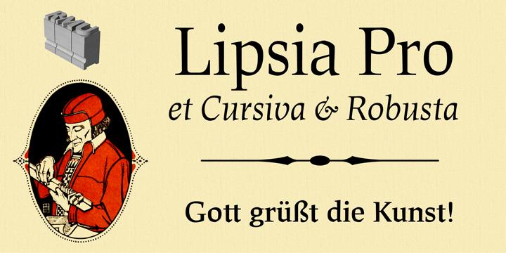 60839 - Font dňa – Lipsia Pro (zľava 25%, od 30$)