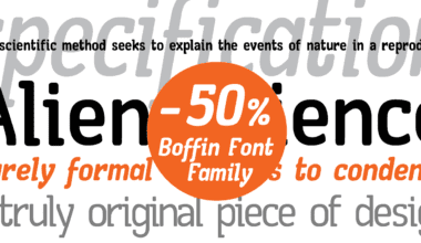 96394 380x220 - Font dňa – Boffic (zľava 50%, od 0$)