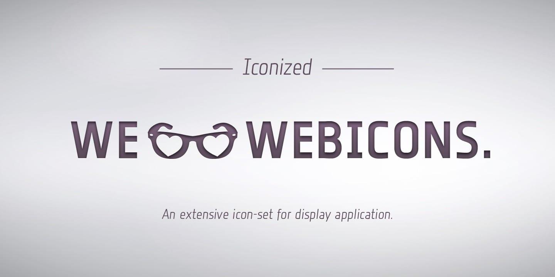 119924 - Font dňa – Iconized (10,00$)