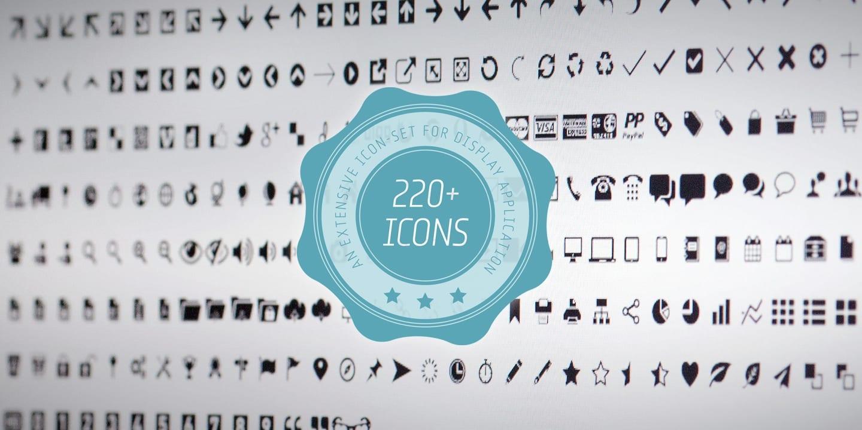119925 - Font dňa – Iconized (10,00$)