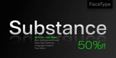 121685 380x190 - Font dňa – Substance (zľava 50%, od 10€)