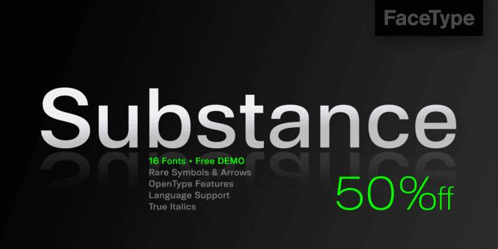 121685 - Font dňa – Substance (zľava 50%, od 10€)
