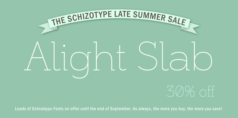 121849 - Font dňa – Alight Slab (28,00$)
