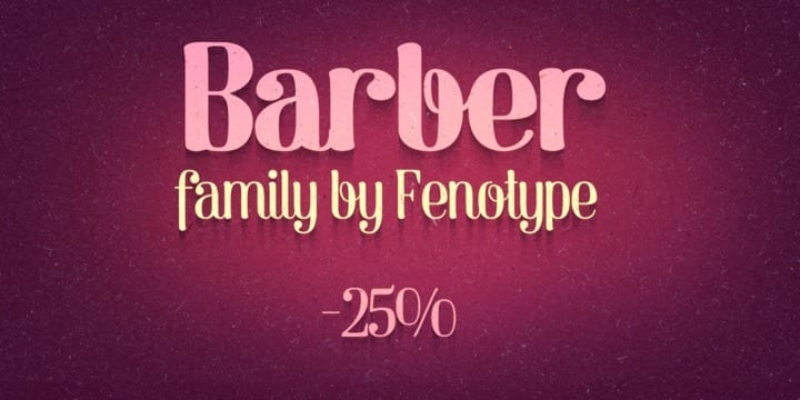 122160 - Font dňa – Barber (od 19,37€)
