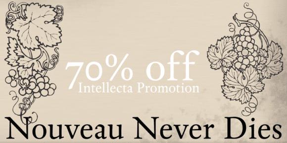 122697 580x290 - Font dňa – Nouveau Never Dies (zľava 70%, od $3.87)