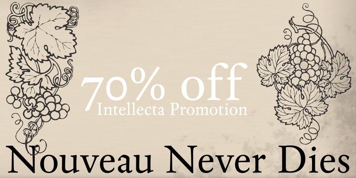 122697 - Font dňa – Nouveau Never Dies (zľava 70%, od $3.87)