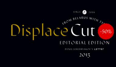 123791 380x220 - Font dňa – Displace Cut (zľava 50%, 24,50$)