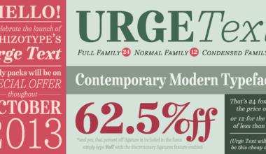 124558 380x220 - Font dňa – Urge Text (od 38,91€)