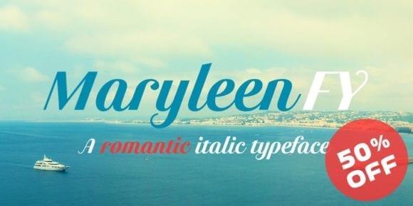 125137 580x290 - Font dňa – Maryleen FY (14,37€)