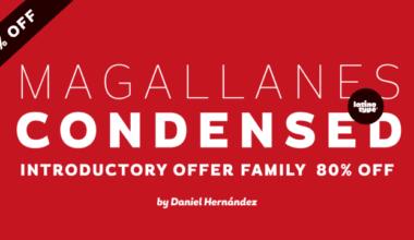 125218 380x220 - Font dňa – Magallanes Condensed (rodina 44,25€)