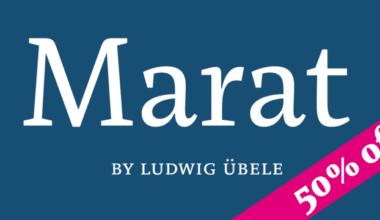 125630 380x220 - Font dňa – Marat (od 18,07€)