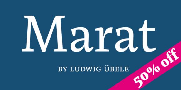 125630 580x290 - Font dňa – Marat (od 18,07€)