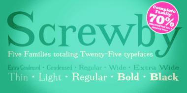 126117 380x190 - Font dňa – Screwby (komplet $75.00)