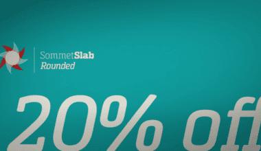 93048 380x220 - Font dňa – Sommet Slab Round (20% zľava, od 11,99 €)