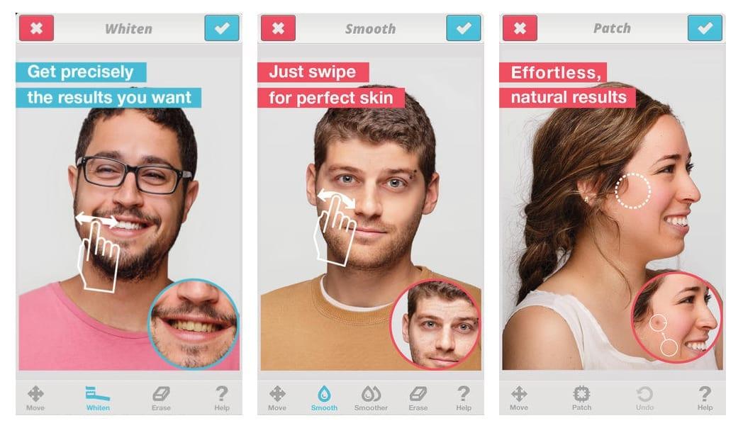 Facetune - Retušovanie fotografií na iPade – Facetune