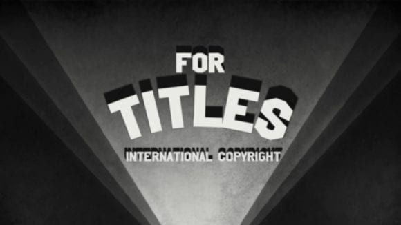 From Paper to Screen9 580x326 - Typografia a filmové titulky. Rýchlo a prehľadne
