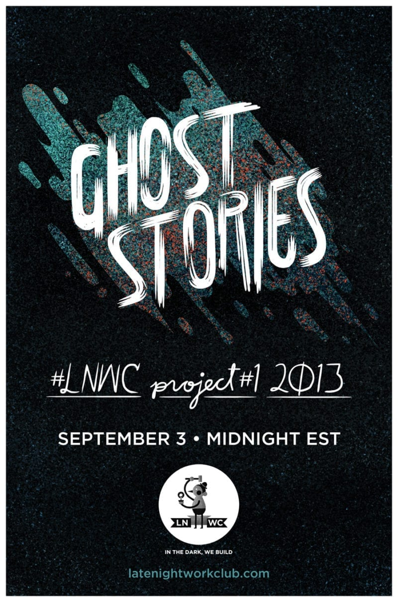 GHOST STORIES POSTER 800x1210 - Late Night Work Club predstavilo GHOST STORIES