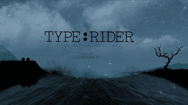 TypeRider cover - Type:Rider – písmenkový Super Mario