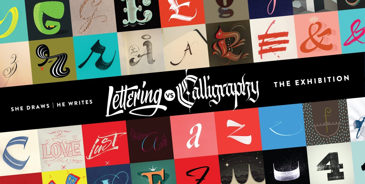 cover2 - Lettering vs Calligraphy