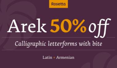 126791 380x220 - Font dňa – Arek (zľava 50%, od 32,00$)