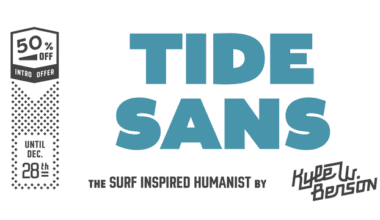 1276891 380x220 - Font dňa – Tide Sans Condensed (zľava 50%, od 3,00$)
