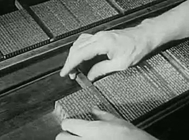 1947 A - Ako sa vyrábali knihy v roku 1947