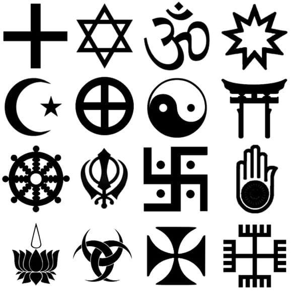 religijnesymbole1 - O sile symbolov