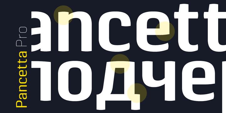 128153 - Font dňa – Pancetta Pro (zľava 80%, od 0$)