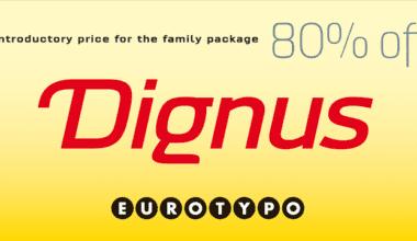 129345 380x220 - Font dňa – Dignus (zľava 80%, rodina $76.00)