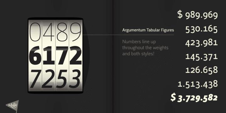 129997 - Font dňa – Argumentum (zľava 50%, od 50$)