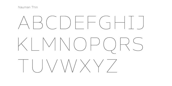 130228 - Font dňa – Nauman (zľava 90%, od 3,20$)