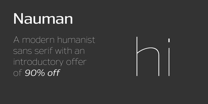 130236 - Font dňa – Nauman (zľava 90%, od 3,20$)