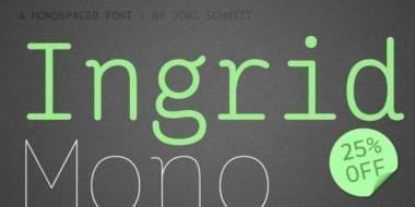 130240 380x190 - Font dňa – Ingrid Mono