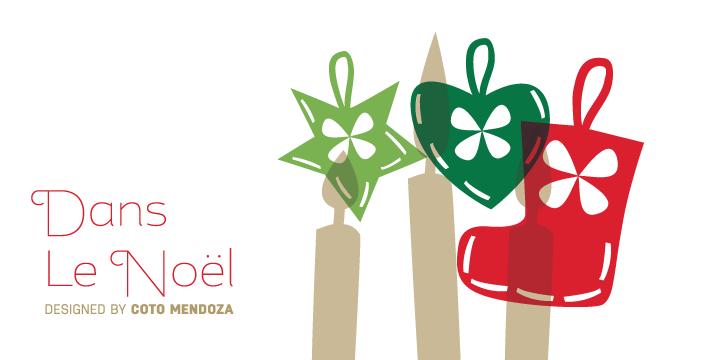97489 - Font dňa – Dans Le Noël (zľava 30%, 20,30$)