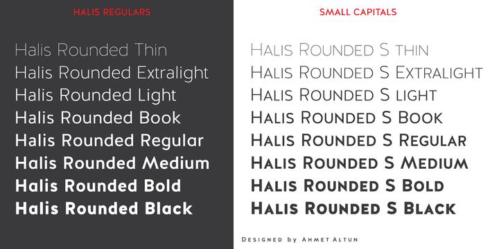 99286 - Font dňa – Halis Rounded