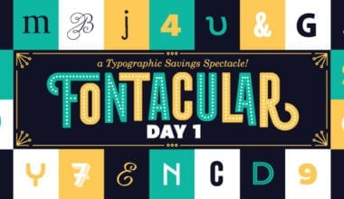 fontacular header 380x220 - Fonts.com spúšťa týždňovku Fontacular – zľavy až 75 %