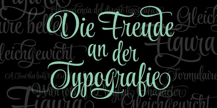 113052 - Font dňa – Style Script (zľava 25%, od 5,25 €)