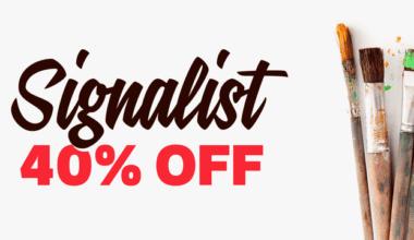 132121 380x220 - Font dňa – Signalist (zľava 40%, 15,00 €)
