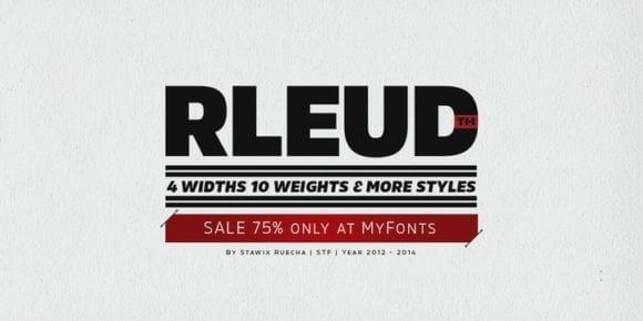 134186 580x290 - Font dňa – Rleud (zľava 75%, od 5,00 €)