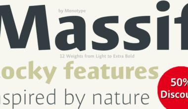 134476 380x220 - Font dňa – Massif (zľava 50%, od 17,50 €)