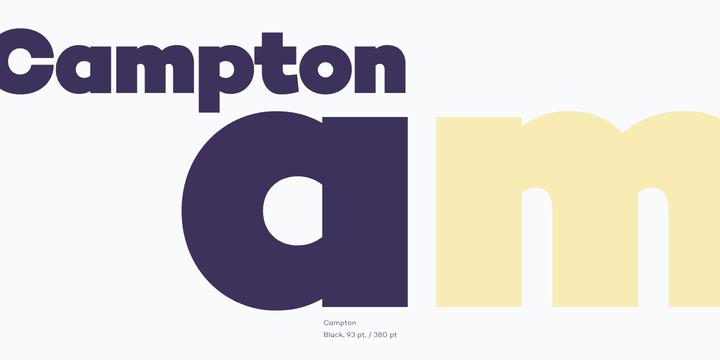134935 - Font dňa – Campton (zľava 84%, komplet 27,46 €)