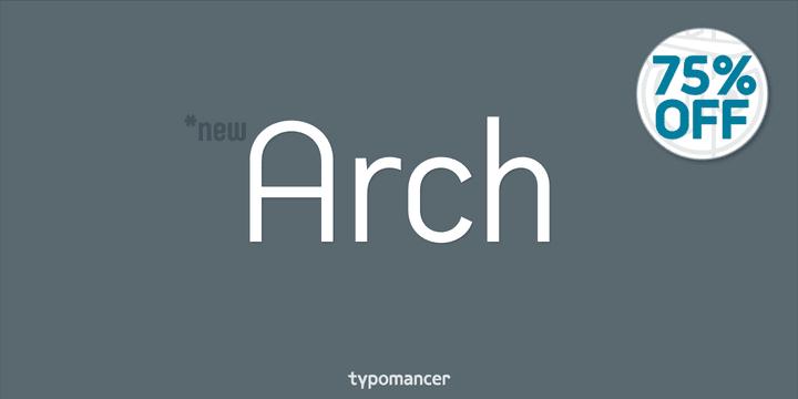 136592 - Font dňa – Arch (zľava 75%, od 3,50 €, komplet 35,25 €)