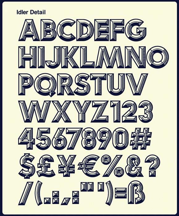 8vus7l - Idler – kreatívna manipulácia s fontom