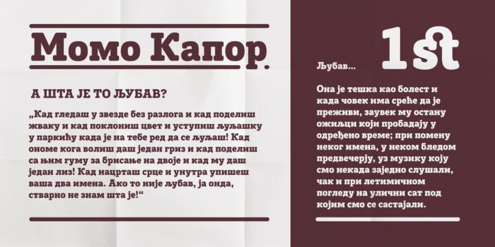 98361 - Font dňa – Posterizer Kg Rounded (zľava 50%, 14,00 €)