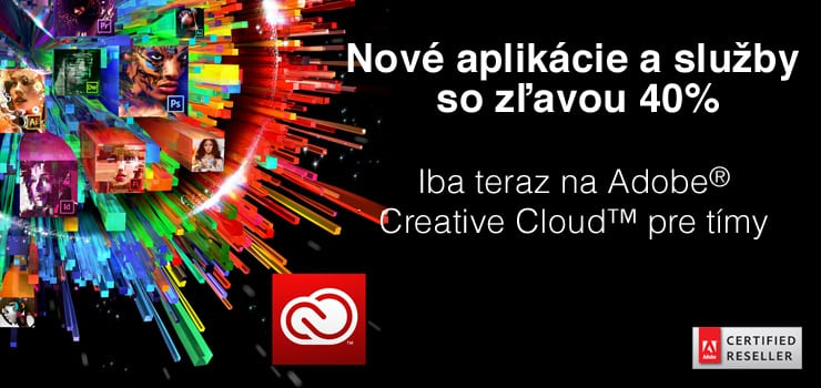 CC740 - Adobe CS6 iba do 30.5.2014