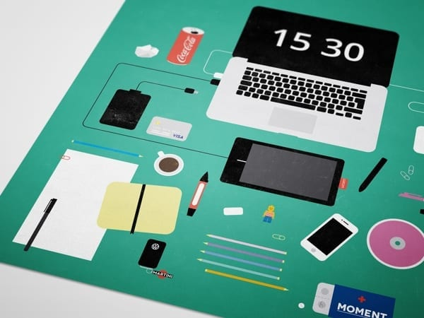 cover2 - Máte na stole poriadok? Pozrite si milú flat infografiku.