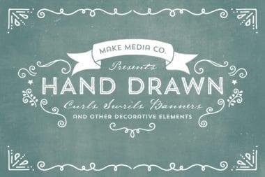 creativemarket swrillscurlsbanners comps o 1 380x253 - Retro Design Bundle – rozsiahla kolekcia za 39 dolárov
