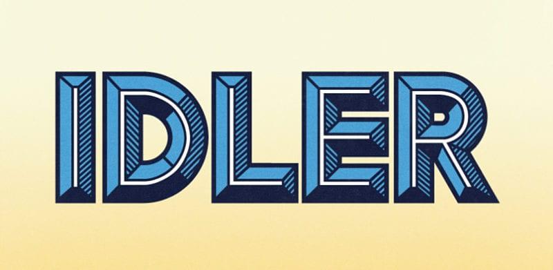 hft000 idler.pr1  800x391 - Idler – kreatívna manipulácia s fontom