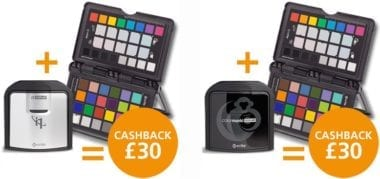 i1displaypro passport 380x179 - X-Rite nabízí cashback £30 za nákup kalibrační sondy a terče