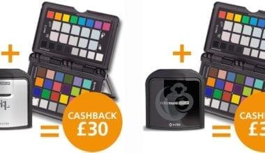 i1displaypro passport 380x220 - X-Rite nabízí cashback £30 za nákup kalibrační sondy a terče